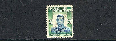 STAMPS  from SOUTHERN  RHODESIA 1937  KG VI  2/6   (MLH )  lot A73b