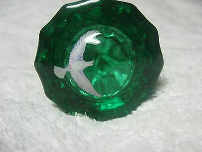 Door Knobs -New Tested And Proven 20 Year Top Coat Emerald Green Fluted