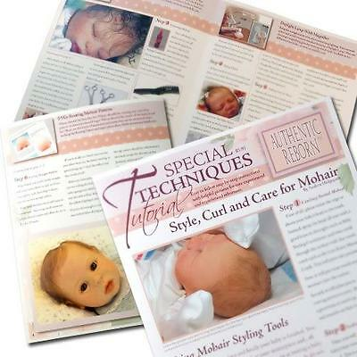 ~STyLe, CuRL AnD CaRe FoR MoHaiR TuToRiAL~ REBORN DOLL SUPPLIES