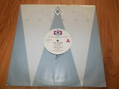 "Stacy Lattisaw-Jump nto my life-1986 PROMO 12"" single"