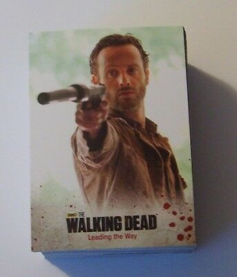 2014 The Walking Dead Season 3 Part 1 Complete Base Set