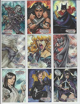 2013 DC Comics: The Women of Legend Gail's Pick Legendary Ladies Foil Set