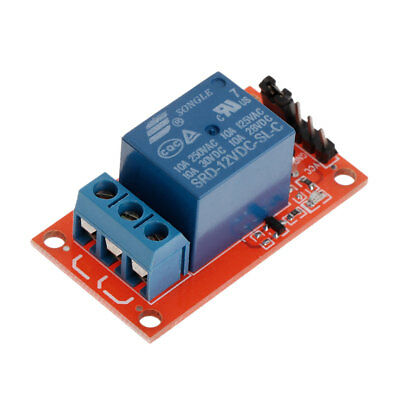 10pcs 12V 1-Channel Relay Module with Optocoupler H/L Level Triger for Arduino