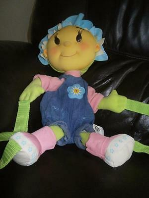 "Authentic Label Fifi and the Flowertots FIFI Soft Toy Backpack 20"" VGC Gy"