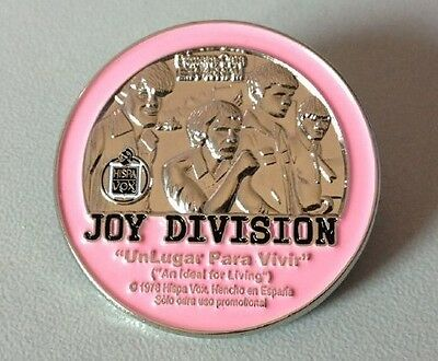 Joy Division An Ideal For Living Badge Coat Coin Shirt Lapel Pin Punk New Order