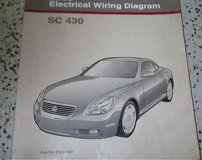 lexus sc430 wiring diagram lexus auto wiring diagram schematic 2000 lexus rx300 rx 300 electrical wiring diagram service shop on lexus sc430 wiring diagram