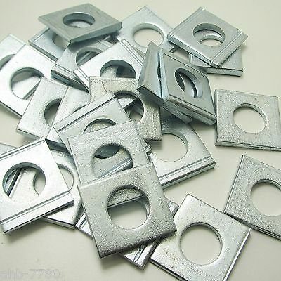 square washers ; Wedge slices ; Washer Stainless Steel ; steel galv.