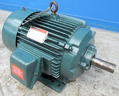 20 Hp Reliance Duty Master Electric Motor 1760 Rpm 1 5 8 Shaft