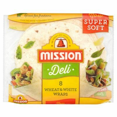 Mission Wheat & White Deli Wraps (8 per pack)