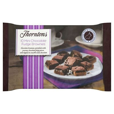 Thorntons Mini Chocolate Fudge Brownies (10 Pro Packung)