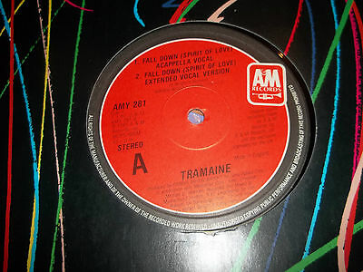 "Tramaine "" Fall Down ( Spirit Of Love ) "" 12"" Vinyl 1985 Excellent"