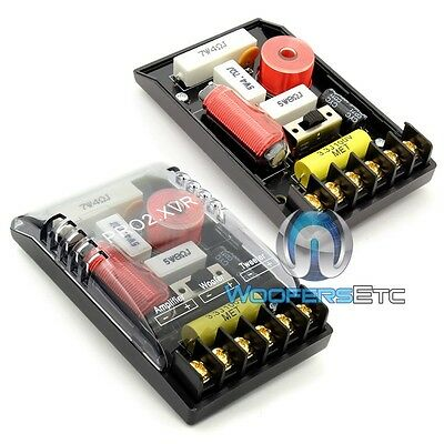 PAIR OF SOUNDSTREAM PRO2.XVR PRO 2-WAY CROSSOVERS for MIDS TWEETERS COMPONENTS