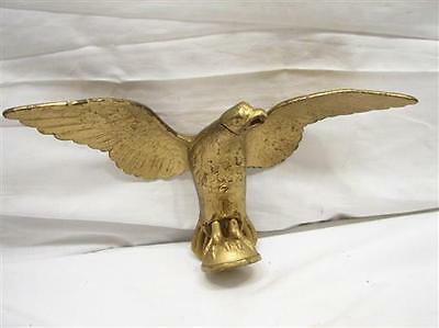 Bronze/Brass Flying Eagle Finial Coffee Grinder Flag Pole Staff Topper Figure A