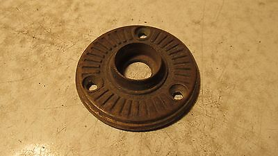 Antique Cast Brass Eastlake Round Door Plate No. 2