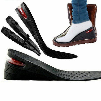 Increase Insole 1 - 4 Layer Height Heel Lift Shoe Air Cushion Pad Taller Unisex
