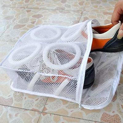 Laundry Net Washing Hanging Wash Bag Sneaker Sports Shoes Boot Cleaner Organiser