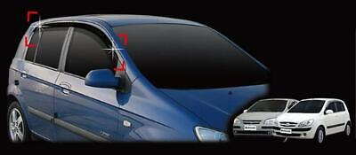 For Hyundai Getz 2002 - 2009 Wind Deflectors Set 5dr (4 pieces)