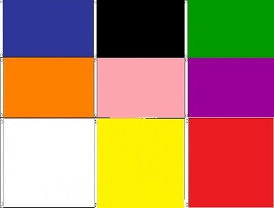 Plain Flags 5X3 In Solid Colours - 9 To Choose From - Design Your Very Own Flag
