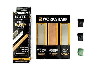 Work Sharp Guided Sharpening System Upgrade Sharpener Knives Knife Axe Portable