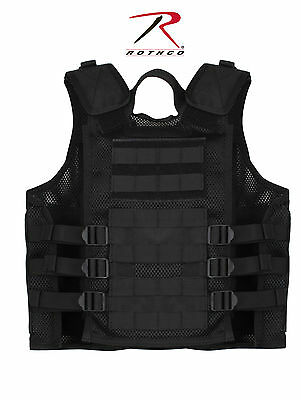 Rothco 5593 Kid's Tactical Cross Draw Vest - Black