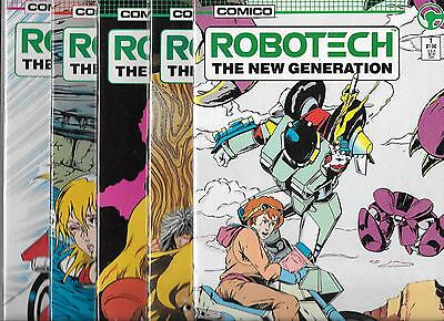Robotech The New Generation Lot Of 10 - #1 #3 #4 #5 #6 #7 #8 #9 #11 #13 (Vf/nm)