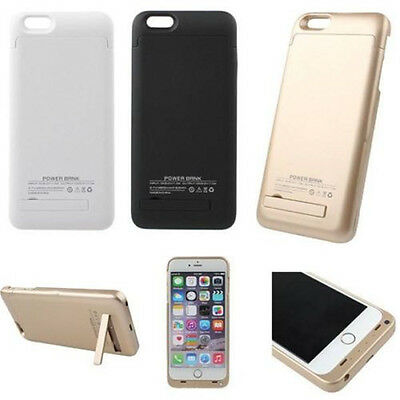 5000mAh Power Bank External Charger Cover Battery Case for iPhone 5 5S 6 &plus