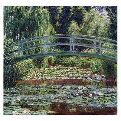 Claude Monet Dipinto Il Giapponese Ponte Pedonale At Giverny