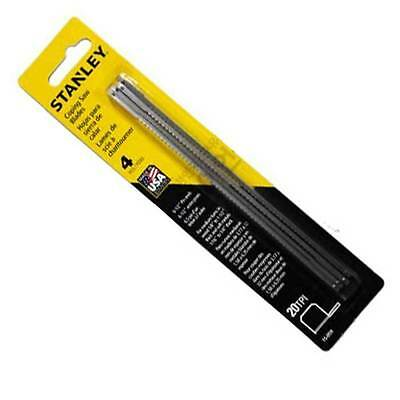 Stanley Coping Saw Blades 160mm ×4 PCS