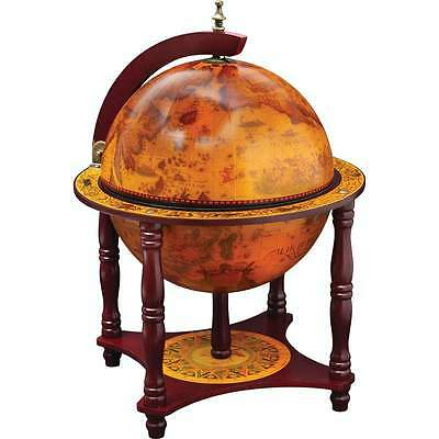 "Kassel 13"" Diameter Globe with 57pc Chess and Checkers Set HHGLBCH"