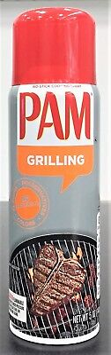 Pam Grill for High Temprature Non Stick Cooking Spray with Vegetable Oil 5 oz