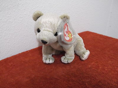 38213f4923d TY BEANIE BABY - 1999 Almond The Bear 7in - NEW WITH TAGS FREE ...