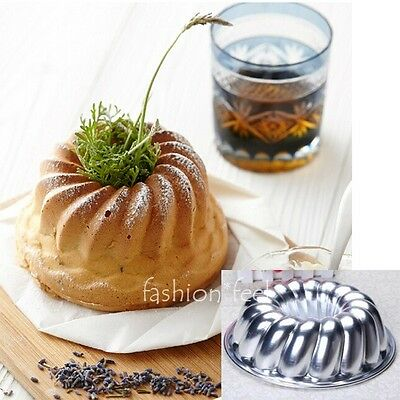 3 Choices Savarin Pan Cake Cupcake Tins Mould Heart Pastry Bakeware Baking Mold