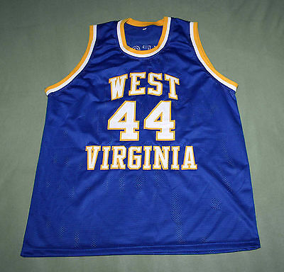3553edc147c Jerry West - West Virginia Mountaineers Jersey New Any Size