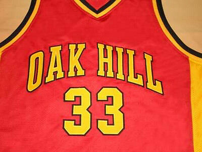 706d51643 KEVIN DURANT OAK Hill High School Jersey Red Sewn New - Any Size ...
