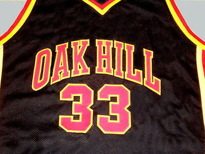 1e5206ad1 KEVIN DURANT OAK Hill High School Jersey Black New Sewn Any Size ...