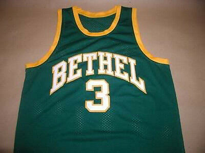 f5d5e929c6d6 Allen Iverson Bethel High School Basketball Jersey Sewn New Sewn Any Size