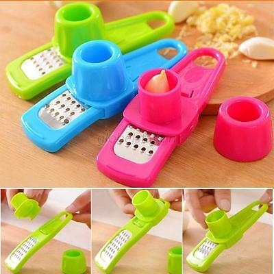 Multi Function Mini Ginger Garlic Grinding Grater Planer Slicer Cutter Tools G26