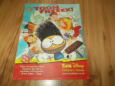 Toon Disney totally toons-2002 magazine advert
