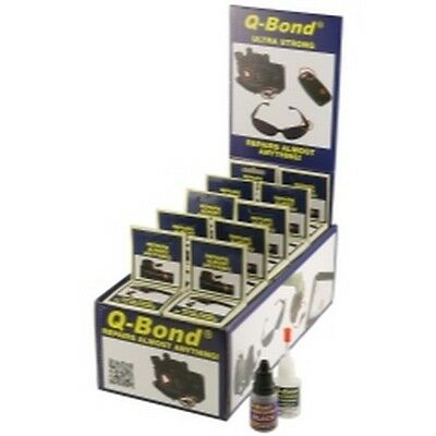 K Tool 90003 Q-Bond Adhesive Kit, 10 Pack With Display