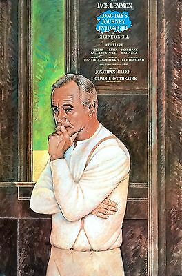 Long Day's Journey Into Night Broadway Window Card Jack Lemmon & Kevin Spacey