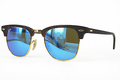 Ray Ban Sonnenbrille / Sunglasses Clubmaster RB3016 1145/17 49[]21 3N  # *