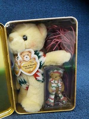 Enesco Cherished Teddies 2000 Limited Edition Holiday Collectible Tin (a2810)