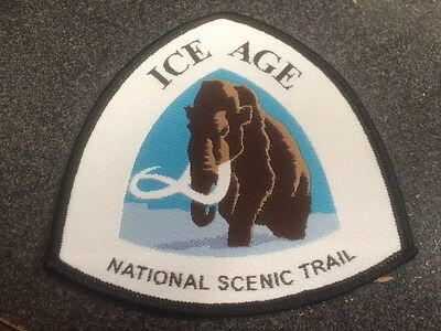WISCONSIN, ICE AGE, NATIONAL SCENIC TRAIL, Patch, Nice Colors