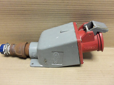 Hubbell 360R7W Receptacle 60A 480Vac