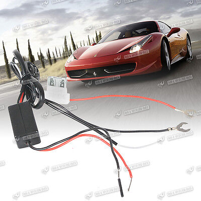 DRL Daytime Running Light Relay Harness Auto Car Control On/Off Switch 12V New
