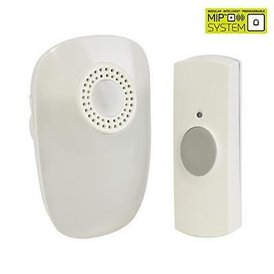 Lloytron B7511 Hearing Impaired Plug-In Wireless Door Chime With MiPs White New