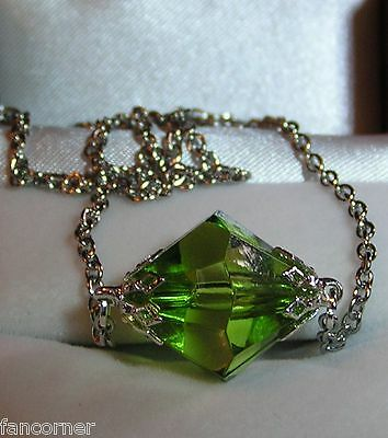 Smallville  pendentif lana lang kryptonite verte lana lang green necklace