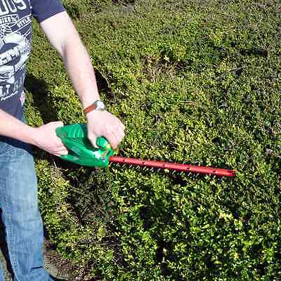 """450W Kingfisher Electric Power Hedge Trimmer Cord Garden Hedge Cutter 18"""" Blade"""