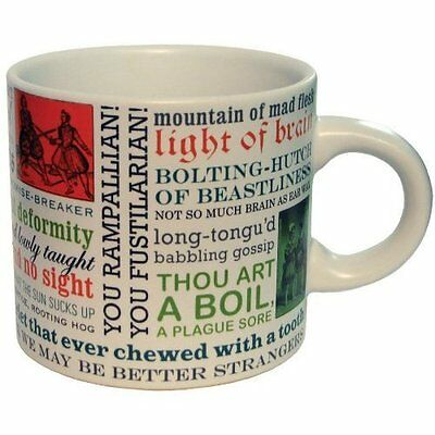 Mug - UPG - Insults Shakespeare New Coffee Cup 65