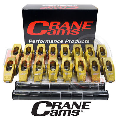 Ford 302 351 Cleveland Roller Rockers 1.73 Crane Gold Race Rockers 27750-16